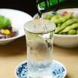 厳選した日本酒をご堪能ください