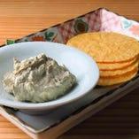 かに味噌クリームチーズ