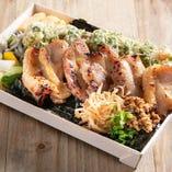 鶴亀noのりべんはプラス料金にてお刺身を追加することも可能です。