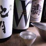 錫の酒器でご提供する「酒」。