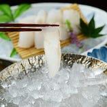 鱸のあらい ※系列店舗のお料理です。