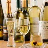 限定ワインの取り寄せもお問い合わせください。※系列店のドリンク一例です。
