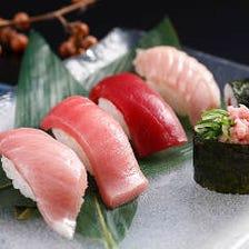 お寿司全品100円(税別)から