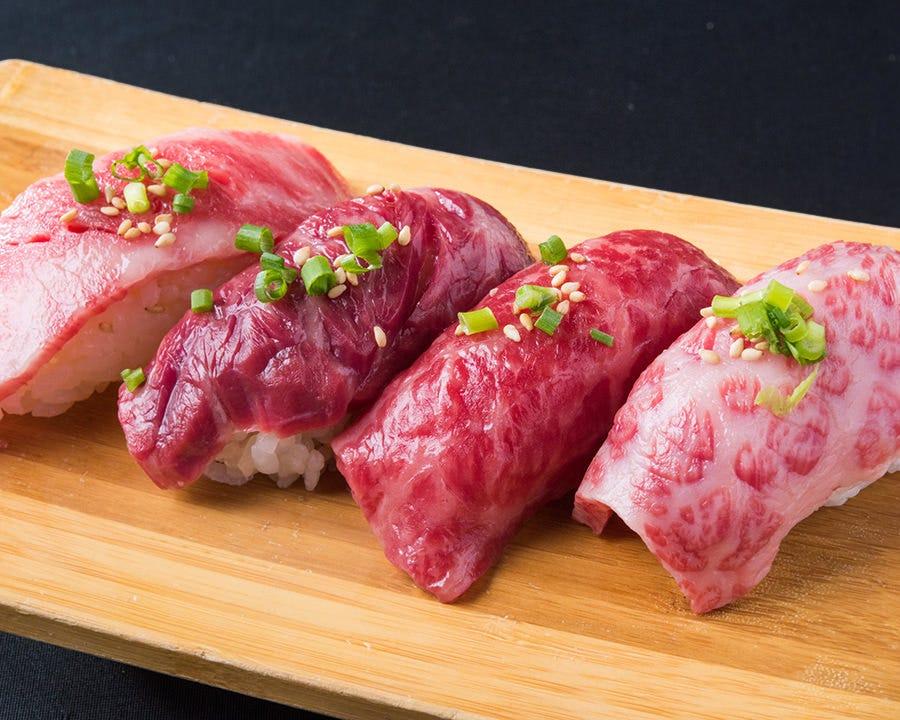 【肉しゃり(肉寿司)】登場◎