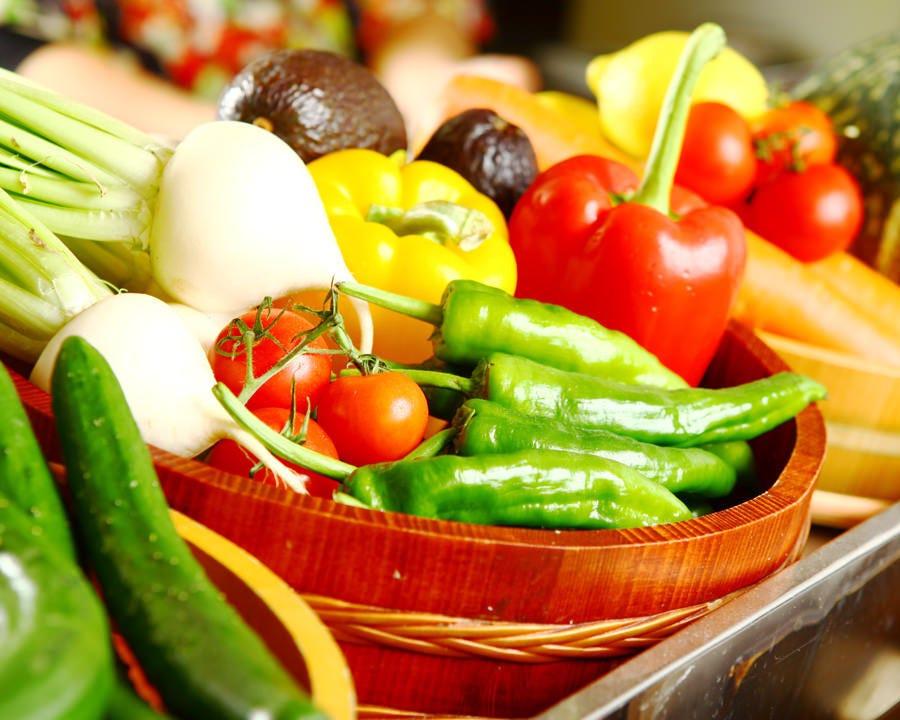 【季節の八王子野菜へのこだわり】