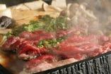 【桜なべ】 割り下仕立てのすき焼き風鍋