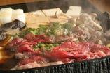 【桜鍋1100円】すき焼き風鍋