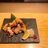塩鶏の柚子胡椒焼き