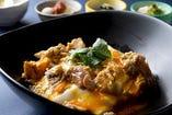 比内地鶏の親子丼 ¥1390税別