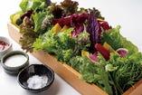 新鮮巻き野菜 ¥1100税別