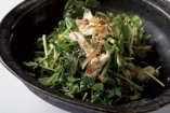 新芽野菜とクレソンのさっぱりサラダ ¥1000税別