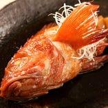 贅沢なきんきの姿煮!北海道根室産のきんきを丸ごと1匹!