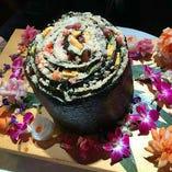 たじまの鮨ケーキ 結婚式や宴会、お誕生日会で是非ご利用ください。