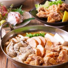 【歓迎・送別会プラン】黄金出汁で食す贅沢海鮮鍋!!3時間飲み放題付き4950円(税込み)
