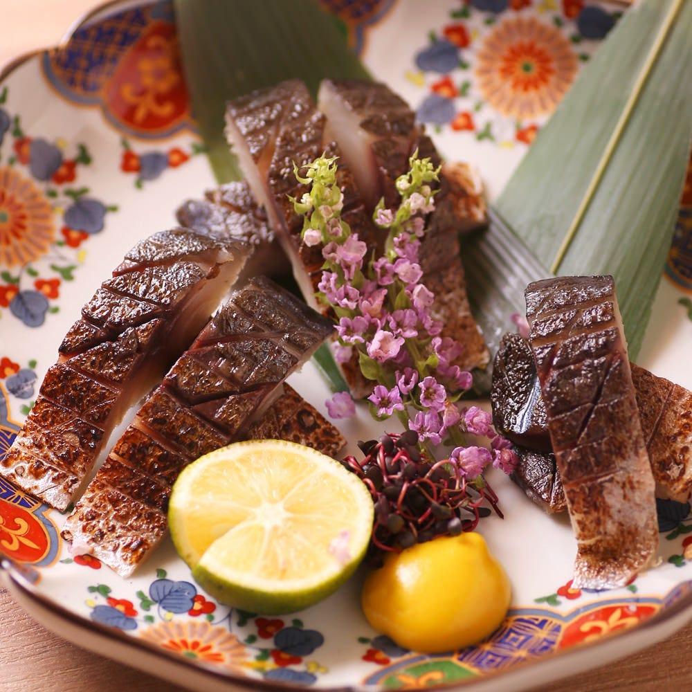 厳選食材の鮮魚や逸品
