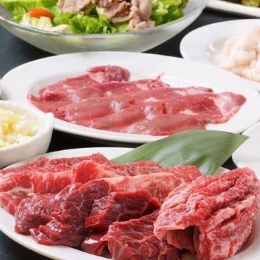 テーブルオーダーバイキング 焼肉ホルモン 王道 住之江店 コースの画像
