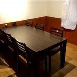 【半個室席】テーブル席