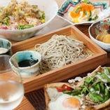 北海道産高級蕎麦粉を使用