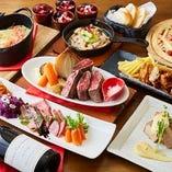 富山のごちそうが勢ぞろい!美味しいワインとご一緒に!