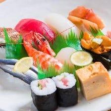 食通も唸る高級寿司に舌鼓