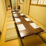 【2階フロア貸切】座敷席完全個室(22名様)