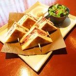【平日10食限定】ボリューム満点なローストビーフサンド