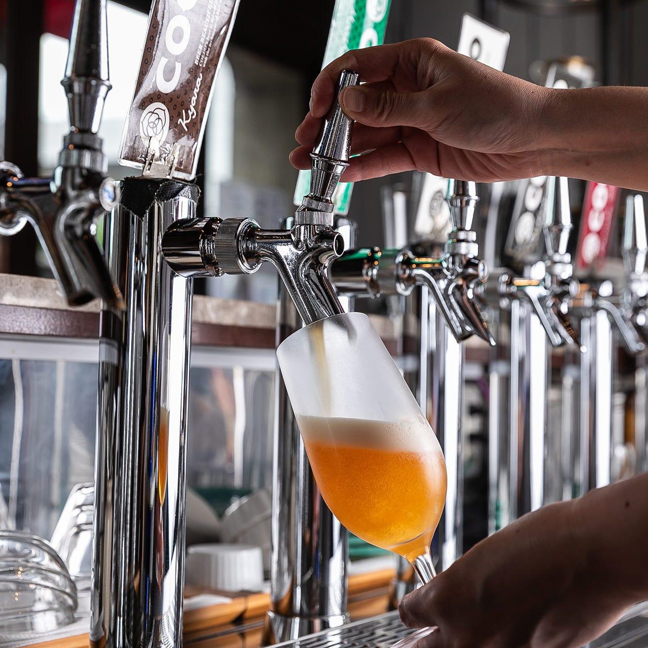 COEDOビールレギュラー6種を近辺では珍しい《樽生》でご提供!