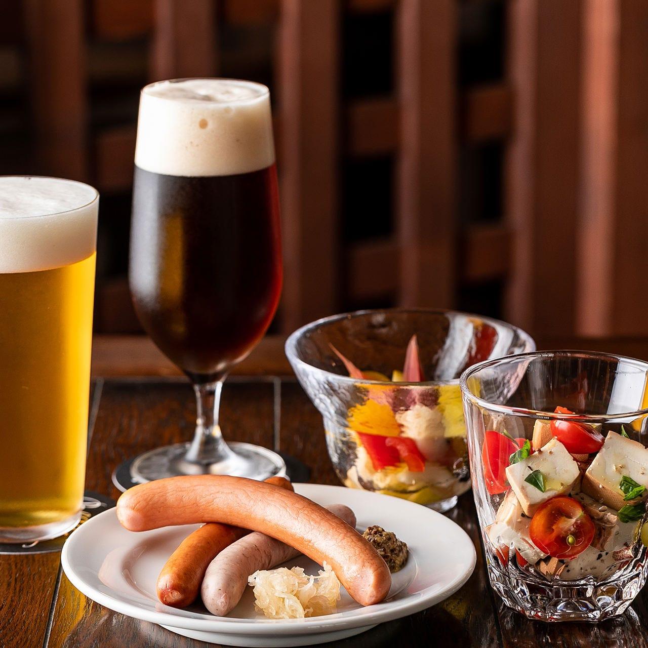 COEDOビールとのマリアージュをお楽しみください。