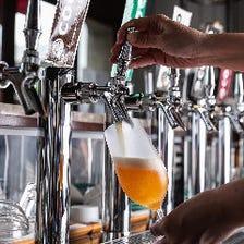 COEDOビール全6種をなんと樽生で!