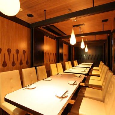 旬鮮魚 黒毛和牛 個室居酒屋 粋な肉 船橋店 店内の画像
