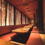 【お座敷個室】 最大80名様/団体様の宴会対応できる広いお座敷