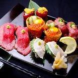 肉寿司【黒毛和牛】