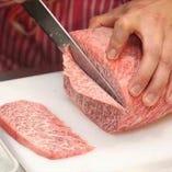 """当店一番人気の希少部位・セレブ肉""""ミスジ""""をご堪能ください"""