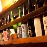 日本酒・焼酎いろいろ 揃えております!