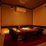 【プライベートな空間の個室】お座敷個室