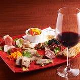 グリル料理とワインのマリアージュを心ゆくまでご堪能ください。