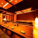 WEB即予約・お席のみのご予約・貸し切りも最大宴会人数は100名◎