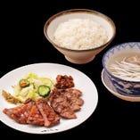 牛たん焼と牛たんサガリ焼定食【 一日限定各20食 】
