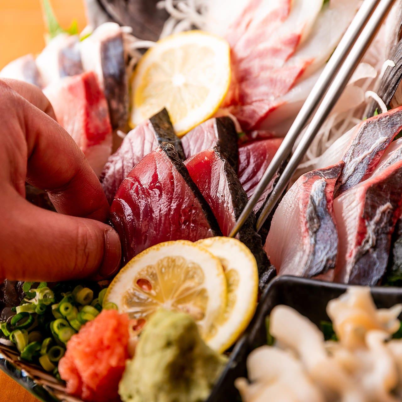 地域最安値に挑戦!コスパ良なお刺身、お寿司をご提供します