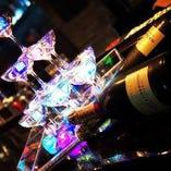 シャンパンワター承ります!思い出に残る夜をお楽しみ下さい.