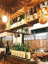 日本酒のラインナップが充実