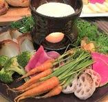 季節の野菜バーニャカウダ