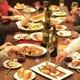 ディナーは3~4名のグループ利用に最適!