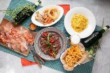 開放的な空間で!淡路牛のグリルがメインの淡路島の食材を味わう『AWAJIプラン』90分飲み放題付!
