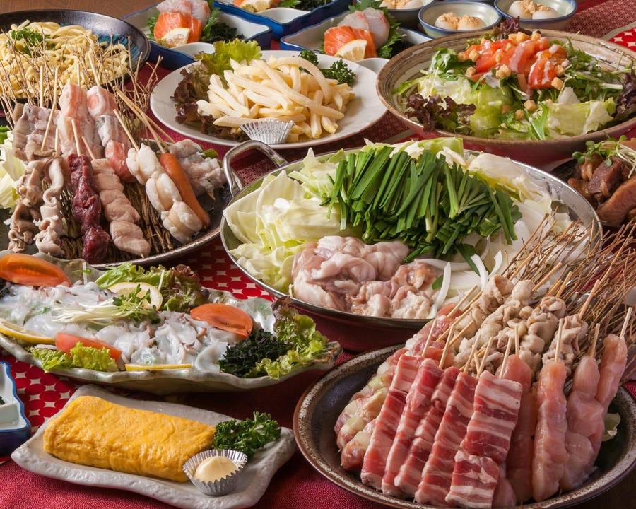 単品では食べられないコース限定のオリジナルメニューが盛り沢山