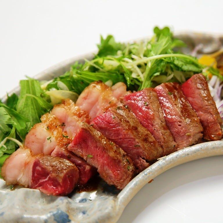 より美味しくお料理をご堪能頂けるよう、お肉にも拘りました!