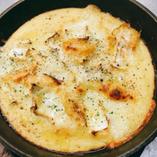 カマンベールチーズのトロロ焼き