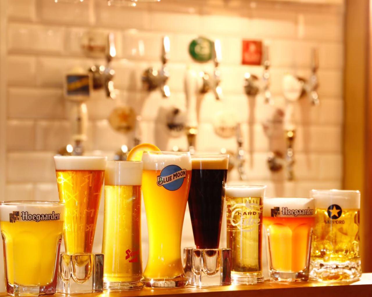 世界の樽生クラフトビール