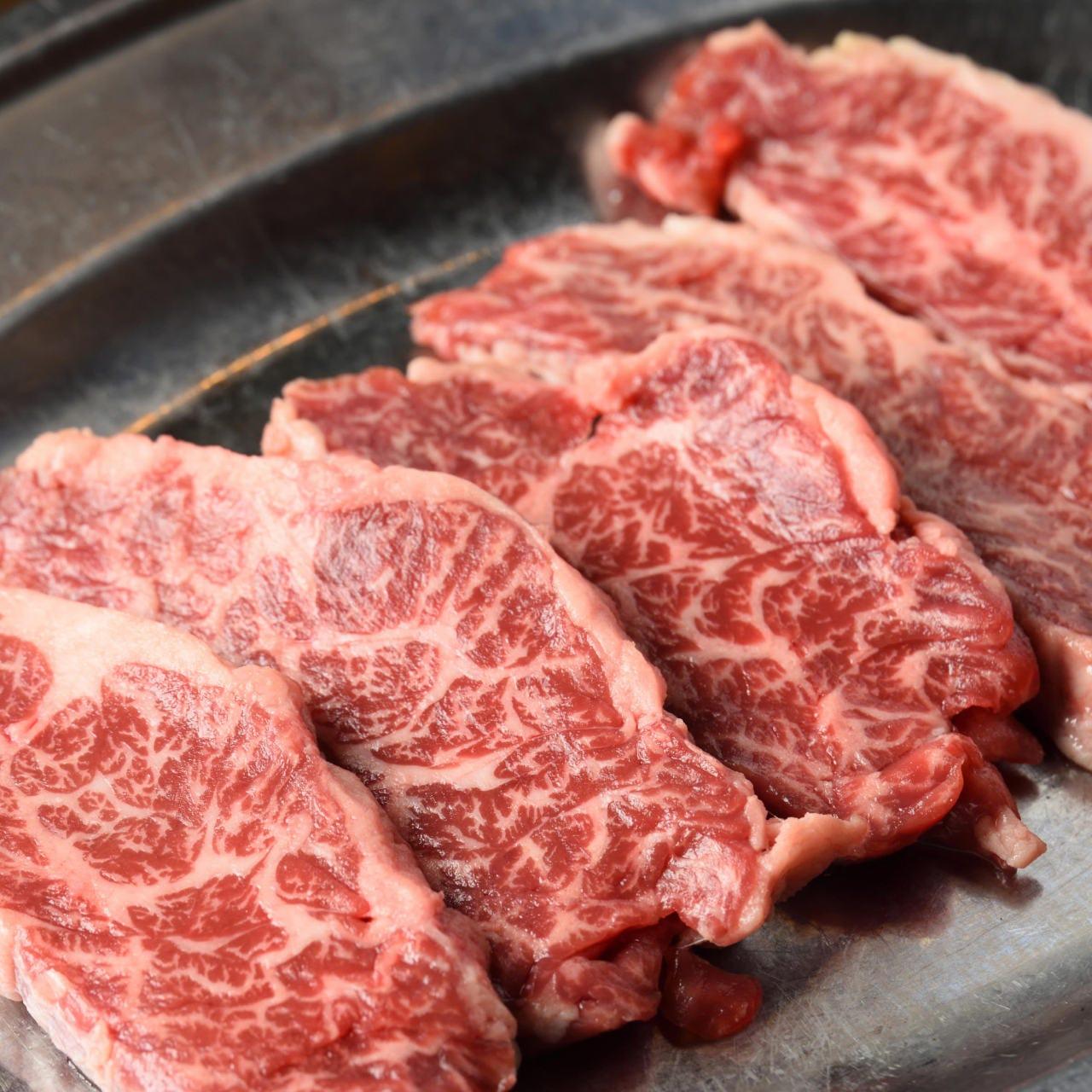 上質な甘みのある赤身肉