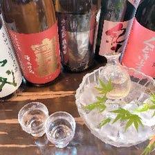 ドリンクも充実!日本酒や焼酎が豊富